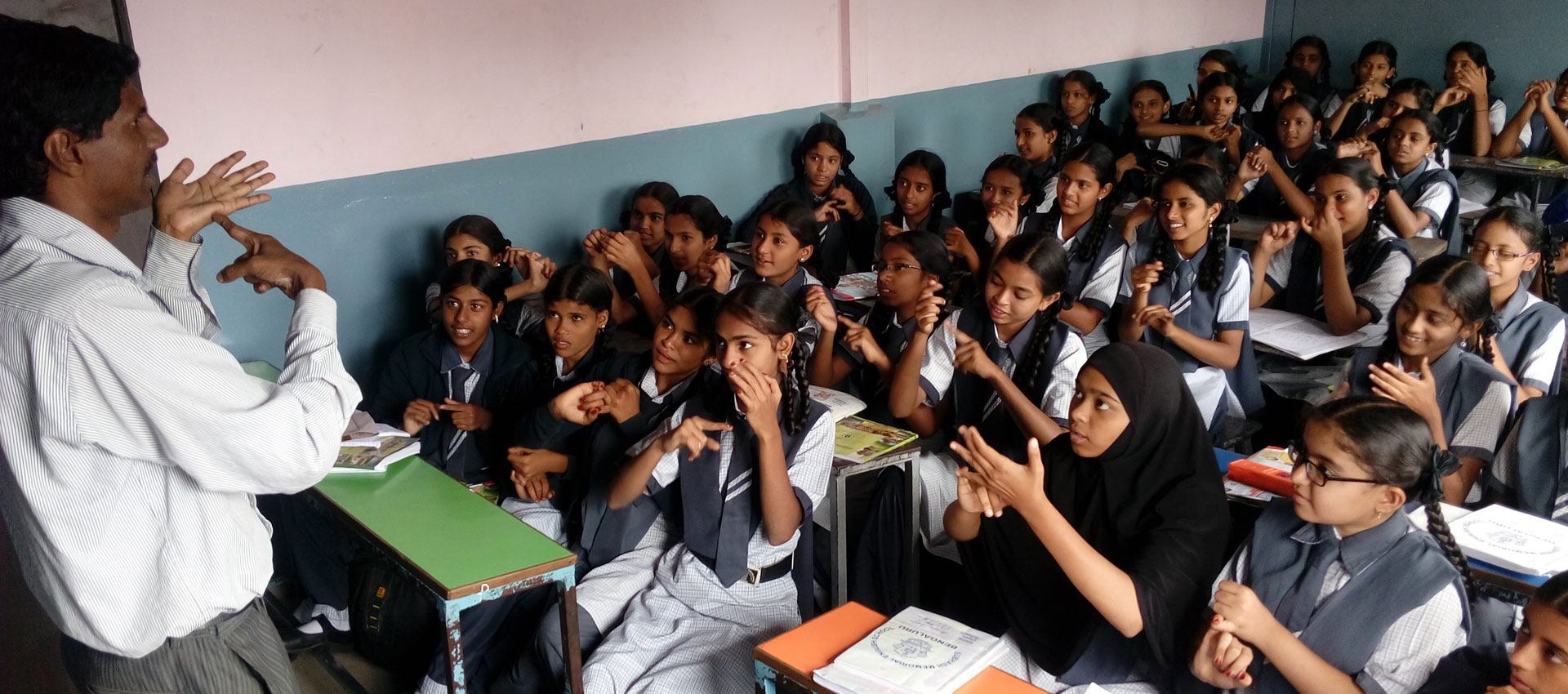 Indian Sign Language Sessions in schools