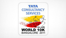 Highest Fundraising NGO at the TCS World 10K event in Bangalore 2011, APD India