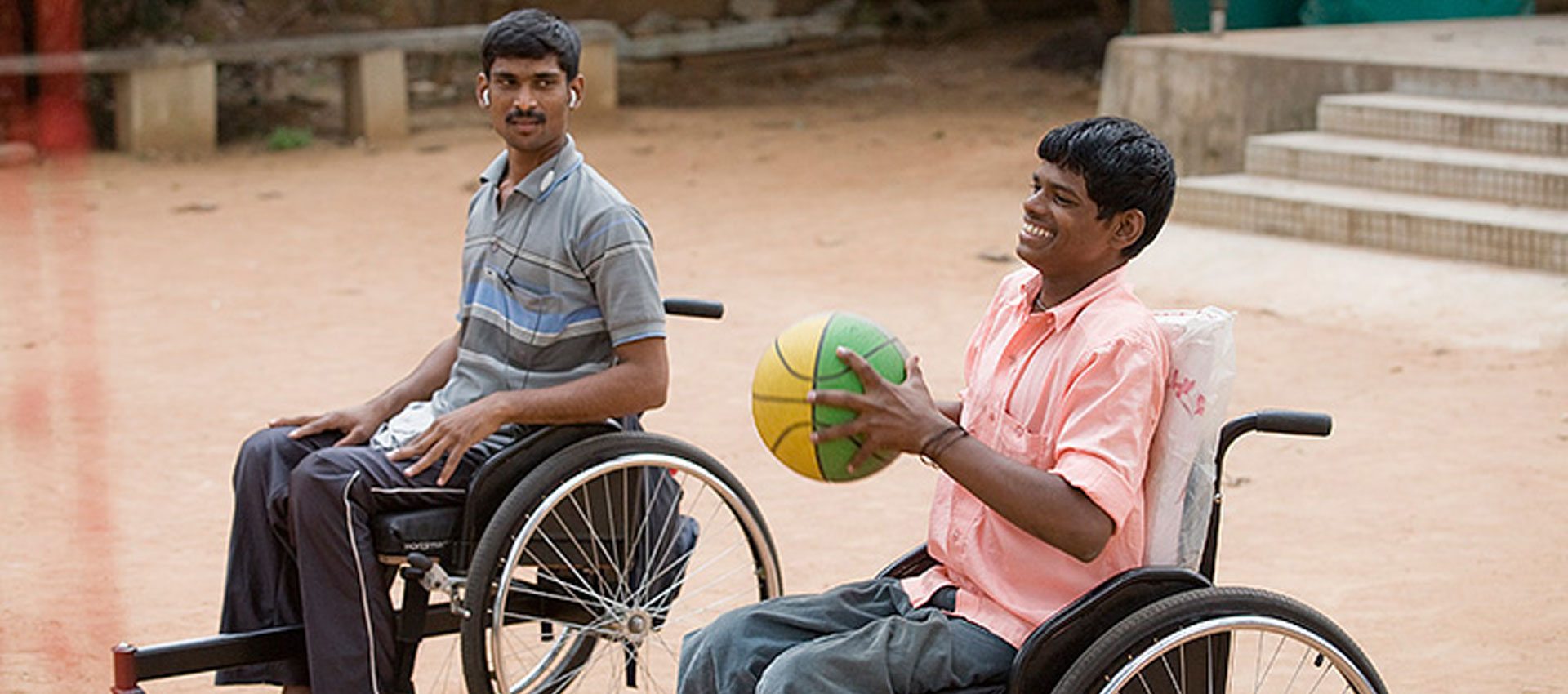 Rehabilitation therapy for spinal cord injury at APD India