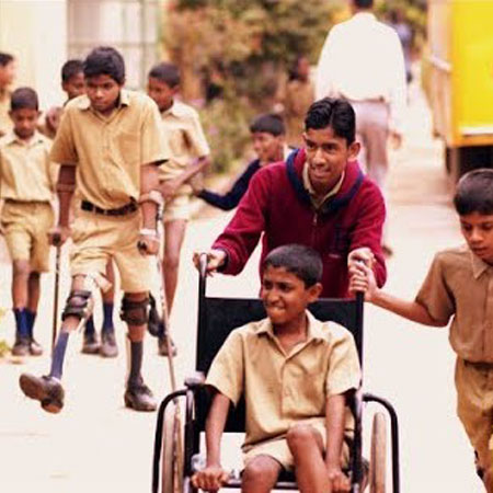 Donate for Transportation provided to SIS students at APD India