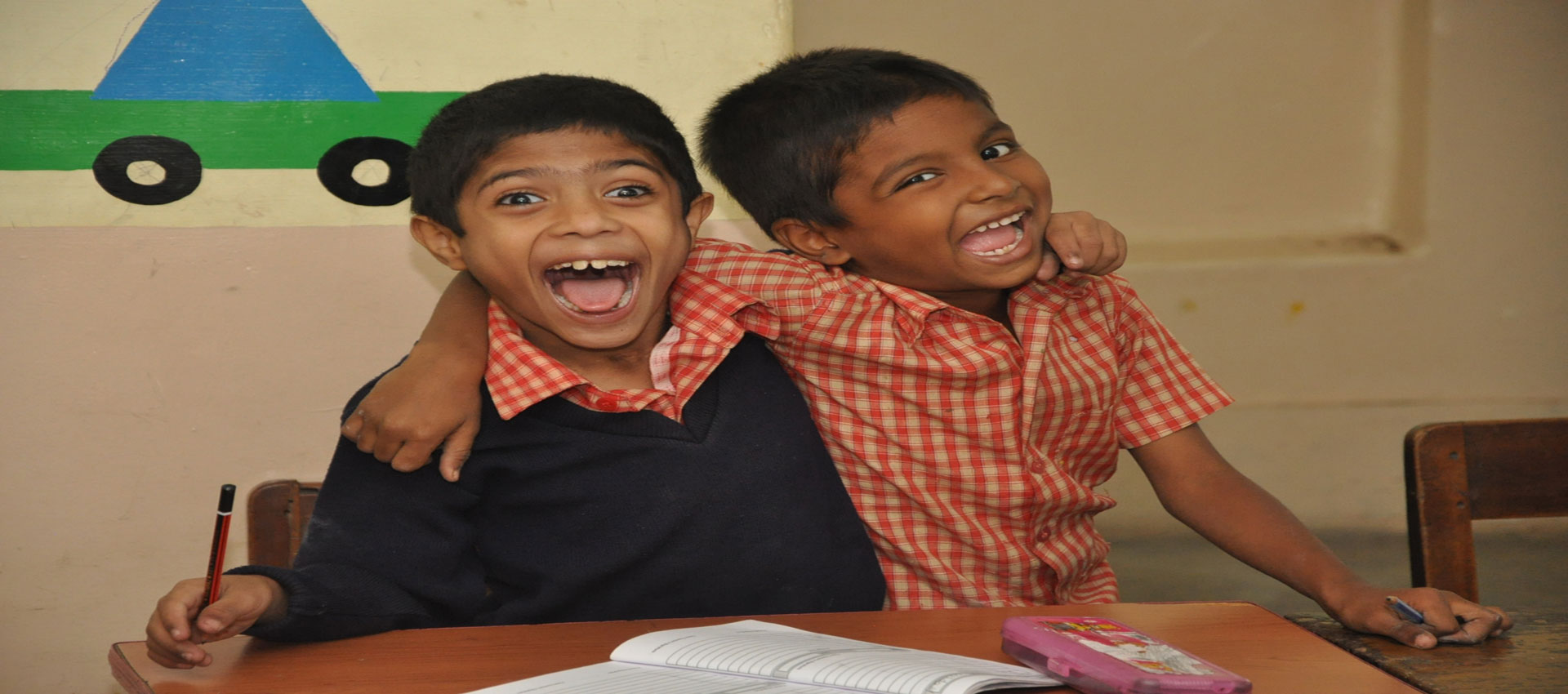 Students from Shradhanjali Integrated School, APD India