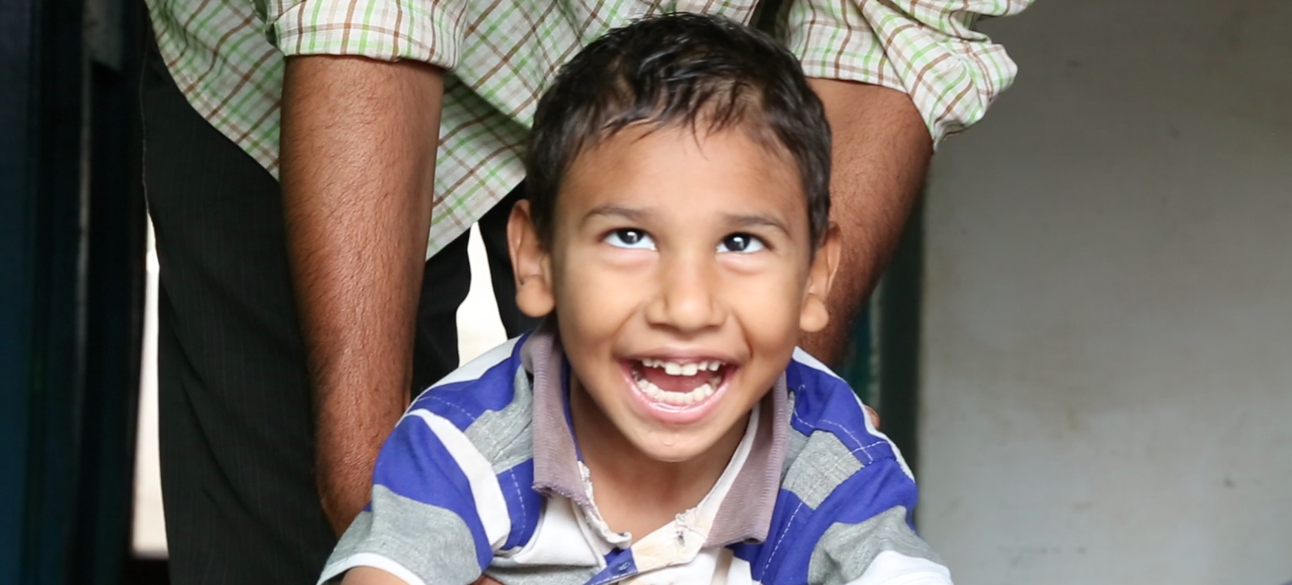 Child playing during Early Intervention activities | APD India