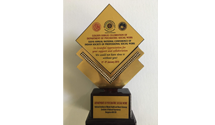 Appreciation Award for contribution to Mental Health by the Department of Psychiatric Social Work, NIMHANS, 2019