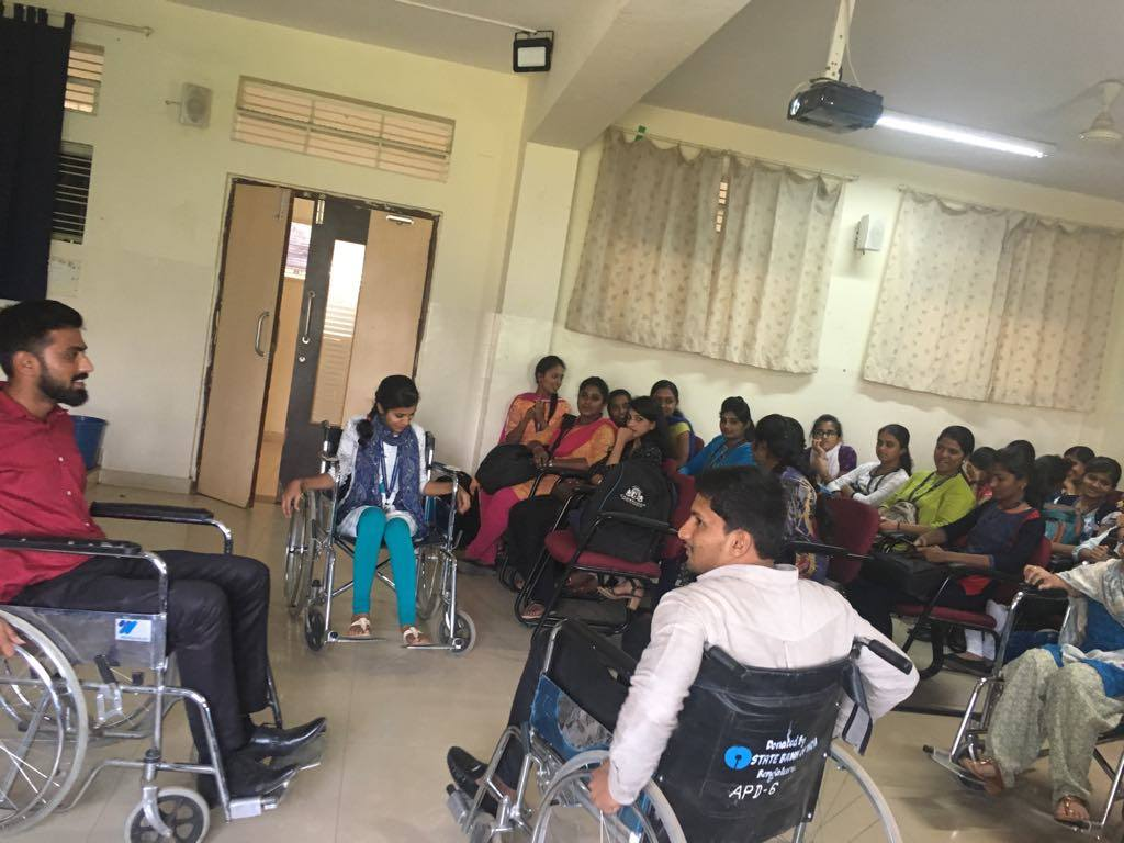 APD India - sensitisation event with students at Cambridge Institute of Technology, Bangalore