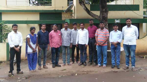 Staff of the APD Campus in Davangere, Karnataka