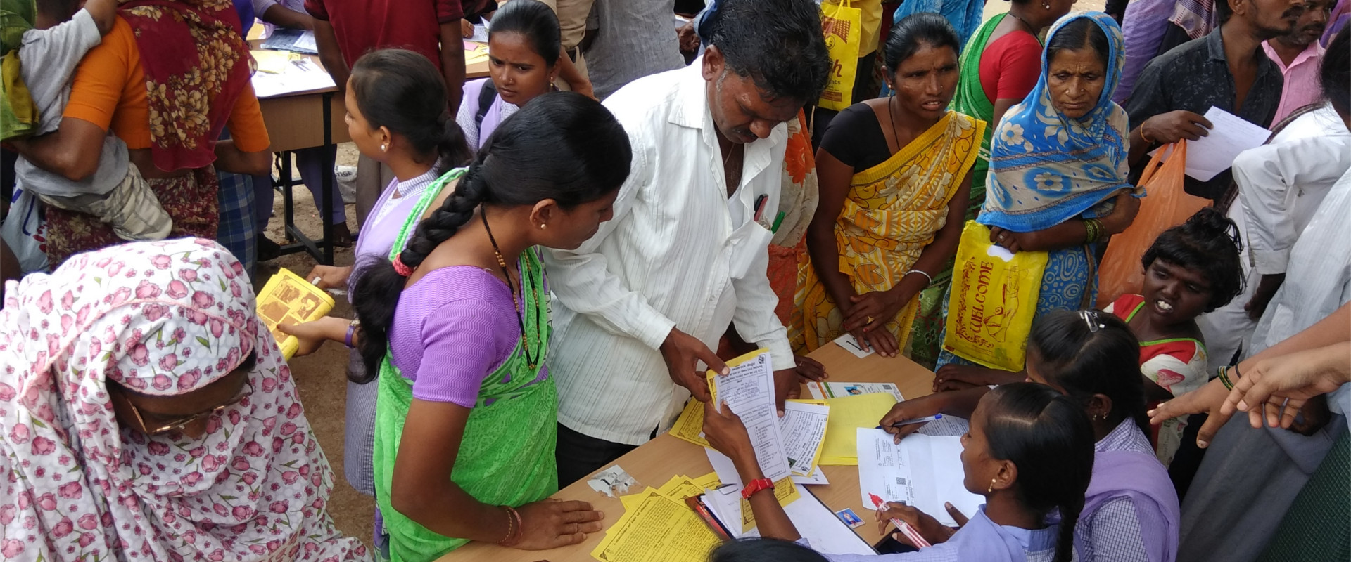 Survey and assessment camp in Koppal | APD India
