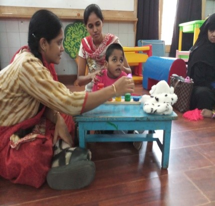 Joshua, with 13 developmental delays, moves to Anganwadi after enrolling in APD's Early Intervention program