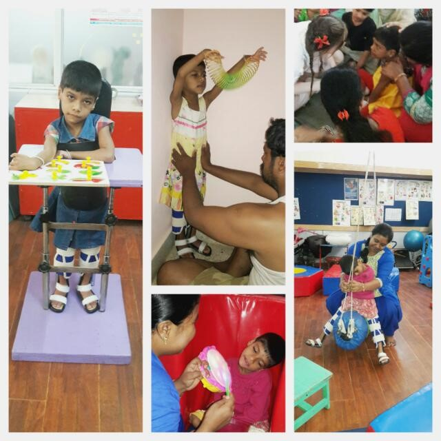Lekhana, with GDD, improves under APD's Early Intervention program