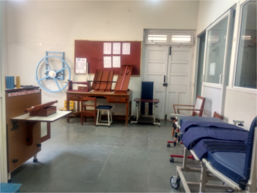 OPD Rehabilitation Unit at APD, Lingarajapuram, Bangalore