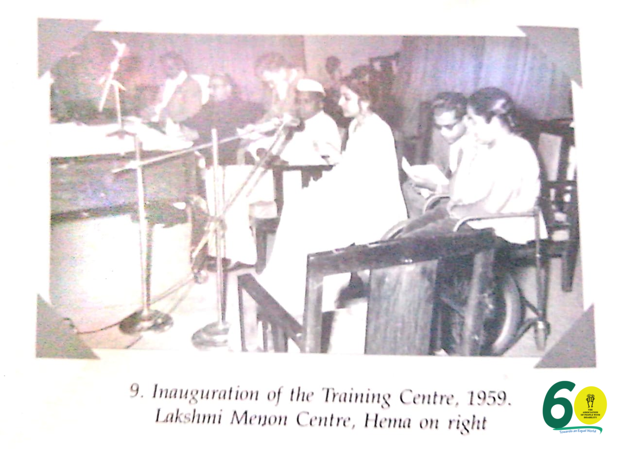 Inauguration of the Trainng Center at APD in 1959 | APD India
