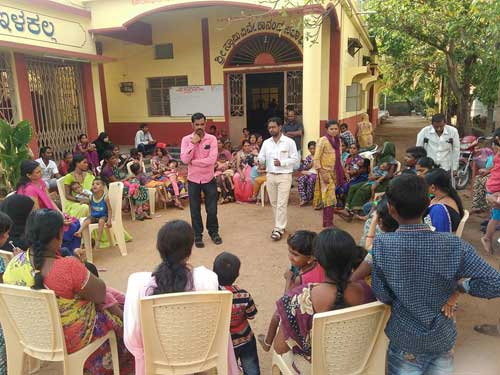 Sensitization event with parents of Children with Disability by APD India
