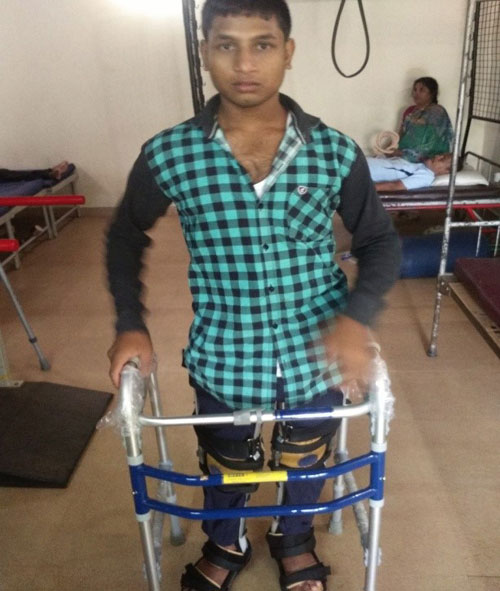 Success Story of Allarakha, with the SCI Rehabilitation Program of APD India