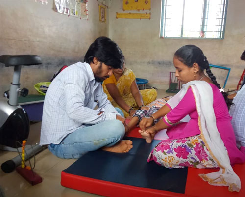 Community Rehabilitation Services for Disability at APD India