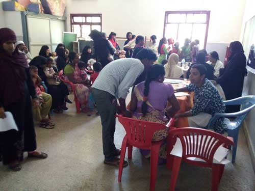 Early Intervention screening camp by APD India