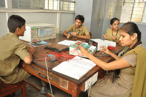 Electronics and Mechanic Training under ITI, API India