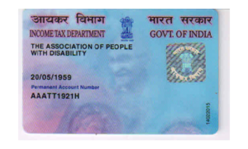 PAN Card of APD