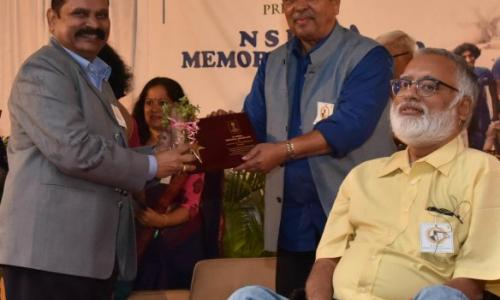 Karnataka Hemophilia Society receives N S Hema Memorial Award 2018 from Hon Justice Santosh Hegde