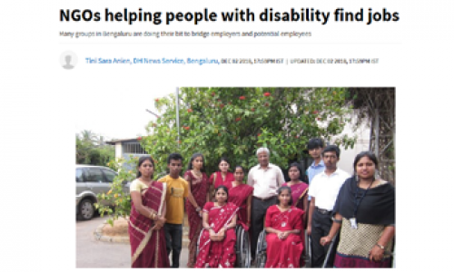 NGOs helping people with disability find jobs