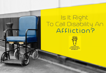 Is It Right To Call Disability An Affliction?