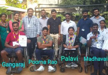 Spinal Cord Injury Rehabilitation Recipients Win Laurels at the 30th State Para Games 2020