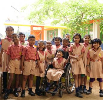 Inclusive Education at Shradhanjali Integrated School, APD India