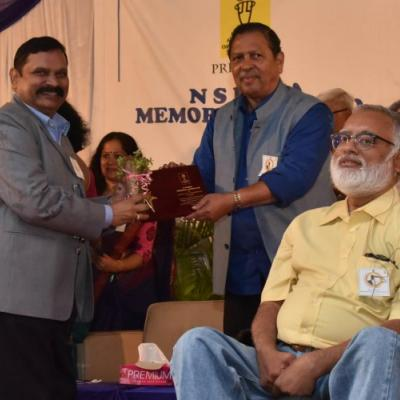 The N.S. Hema Award for Outstanding NGO in the  Disability Sector, 2018 - Karnataka Haemophilia Society